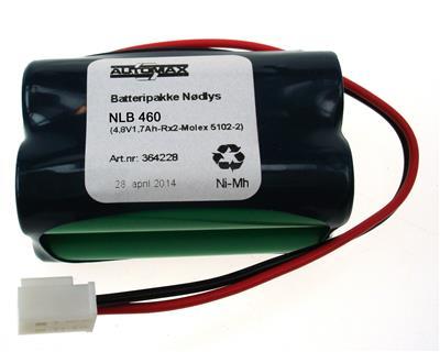 NLB 460 (4,8V1,7Ah-Rx2-Plugg 24)