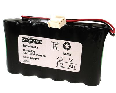 Alarm 606  (7,2V1,2Ah-R-Molex 5102-03)