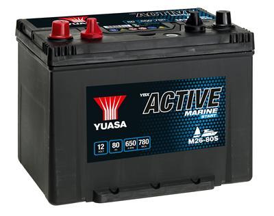 Active M26-80S (12V-80Ah)