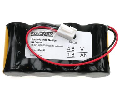 NLB 498 (4,8V1,8Ah-R-Plugg 13 polvent)
