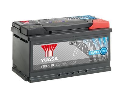 YBX7110 (12V 75Ah 730A)