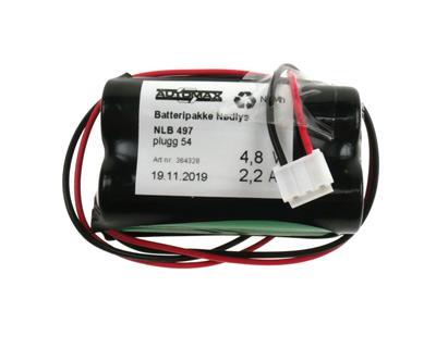 NLB 497 (4,8V-2,2Ah-R2-Plugg 54)