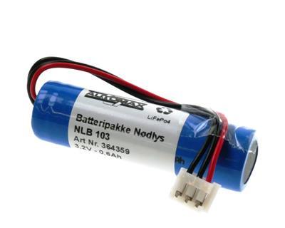 NLB 103 (3,2V-0,6Ah- Plugg 54)