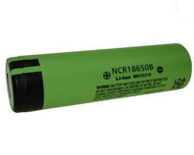 Li-Ion NCR 18650B (3,7V-3400mAh)