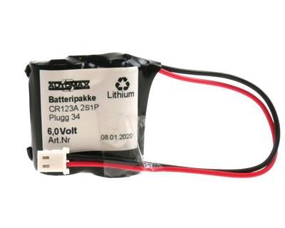 LBP 2xCR123-R-Plugg 34