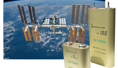 GS Yuasa's lithium-ion cells are delivered to the International Space Station for the second time