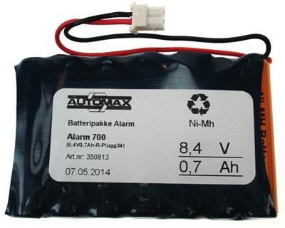 Alarm 700 (8,4V0,7Ah-R-Plugg34)