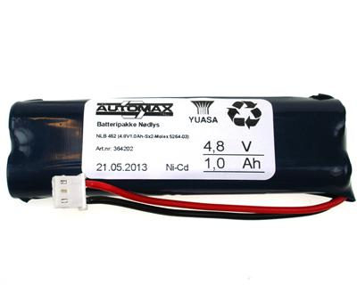 NLB 452 (4,8V1,0Ah-Sx2-Plugg 31)