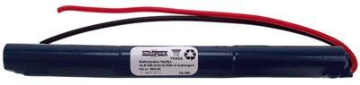 NLB 339 (3,6V-0,75Ah-S-ledninger)