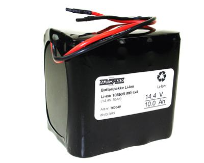 Li-Ion 18650B-MR 4x3 (14,4V-10,5Ah)