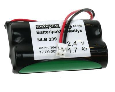 NLB 239 (2,4V1,7Ah-R-Plugg 29 Polvent)