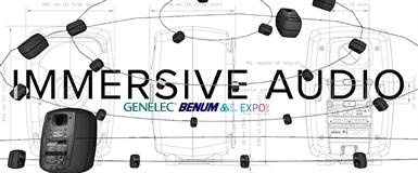 Immersive Audio-rig med Genelec