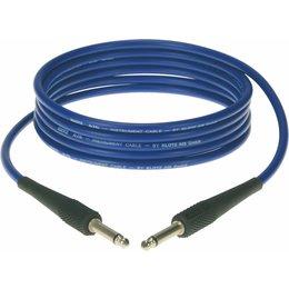 Klotz KIK Instr.Cable black 2m Jack 2p - Jack 2p blue