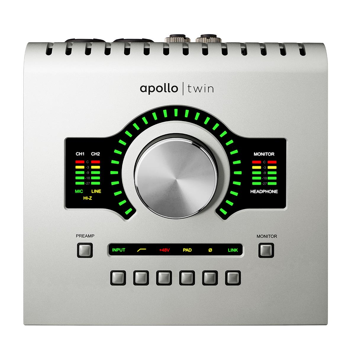 Universal Audio Apollo TWIN DUO USB3 x2 DSP Win, Heritage Ed