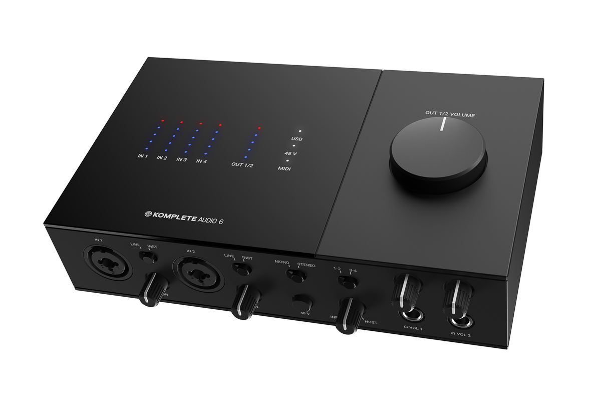 Native Instruments Ljudkort Komplete Audio 6 mk2 (26440)