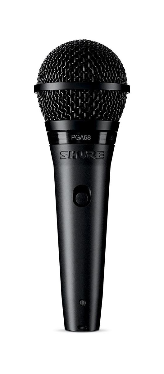 Shure PGA58-QTR-E HANDHELD MIC w 15FT 1/4in TO XLR CABLE