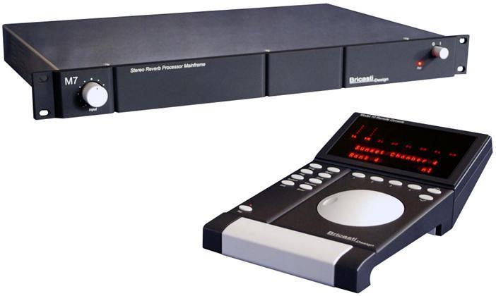 Bricasti Bundel, M10 Remote + 1x M7M Reverb Processor