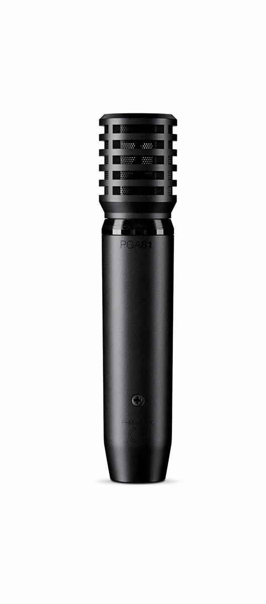 Shure mikrofon instrument kardioide med 5m xlr kabel