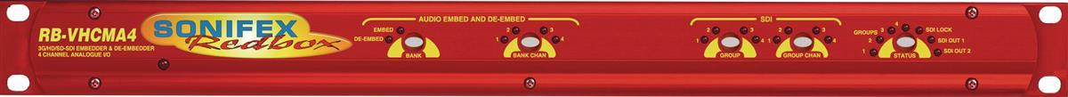 Sonifex 3G/HD/SD-SDI Embedder & De-Embedder 4ch Analogue I/O