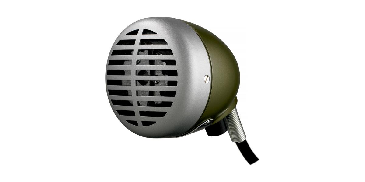 Shure 520DX harmonica microphone dynamic omni