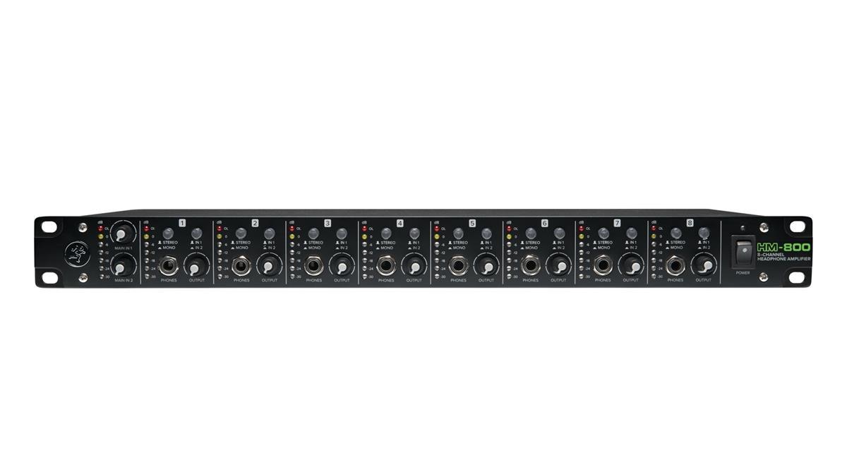 Mackie HM-800 Headphone Amplifier, 8-channel