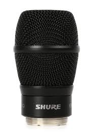 Shure KSM9 mikrofonelement, sort, for Shure håndsender