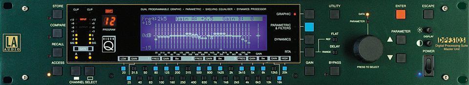 LA Audio Dig EQ programmerbar