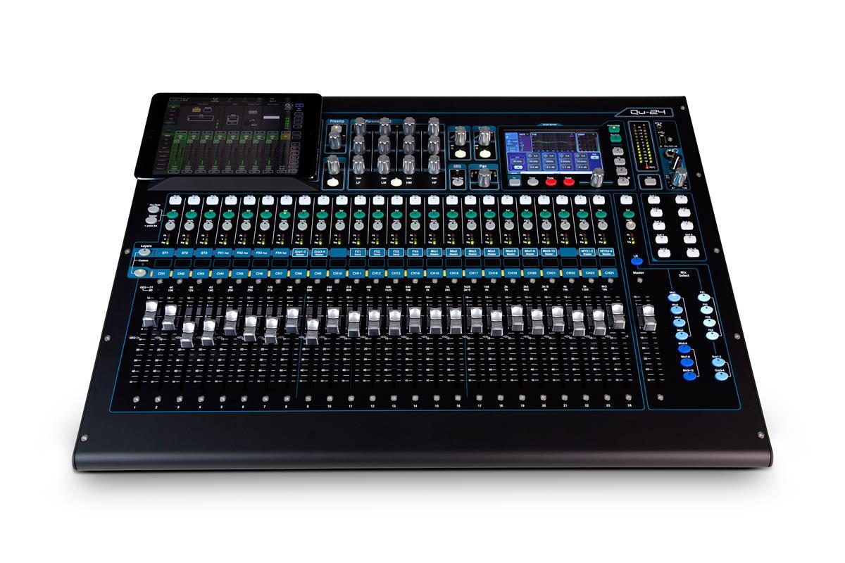 A&H Digital Mixer: 24 Mic/Line- 3st-4FX-20 MIX-2Matrix