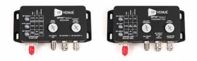 RF Venue OPTX1 RF Over Fiber Remote Antenna Dist