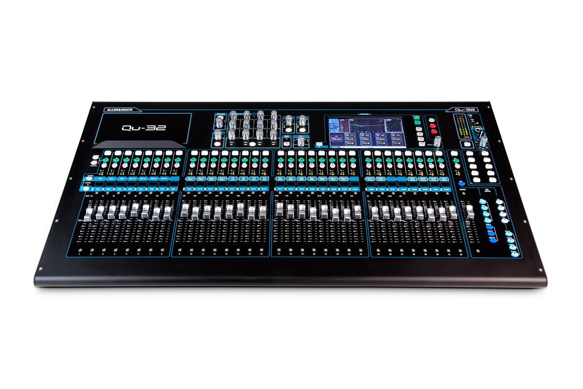 A&H Digital Mixer: 32 Mic/Line- 3st-4FX-20 MIX-2Matrix