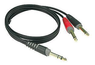 Klotz Insert kabel Jack - 2X Jack 2m
