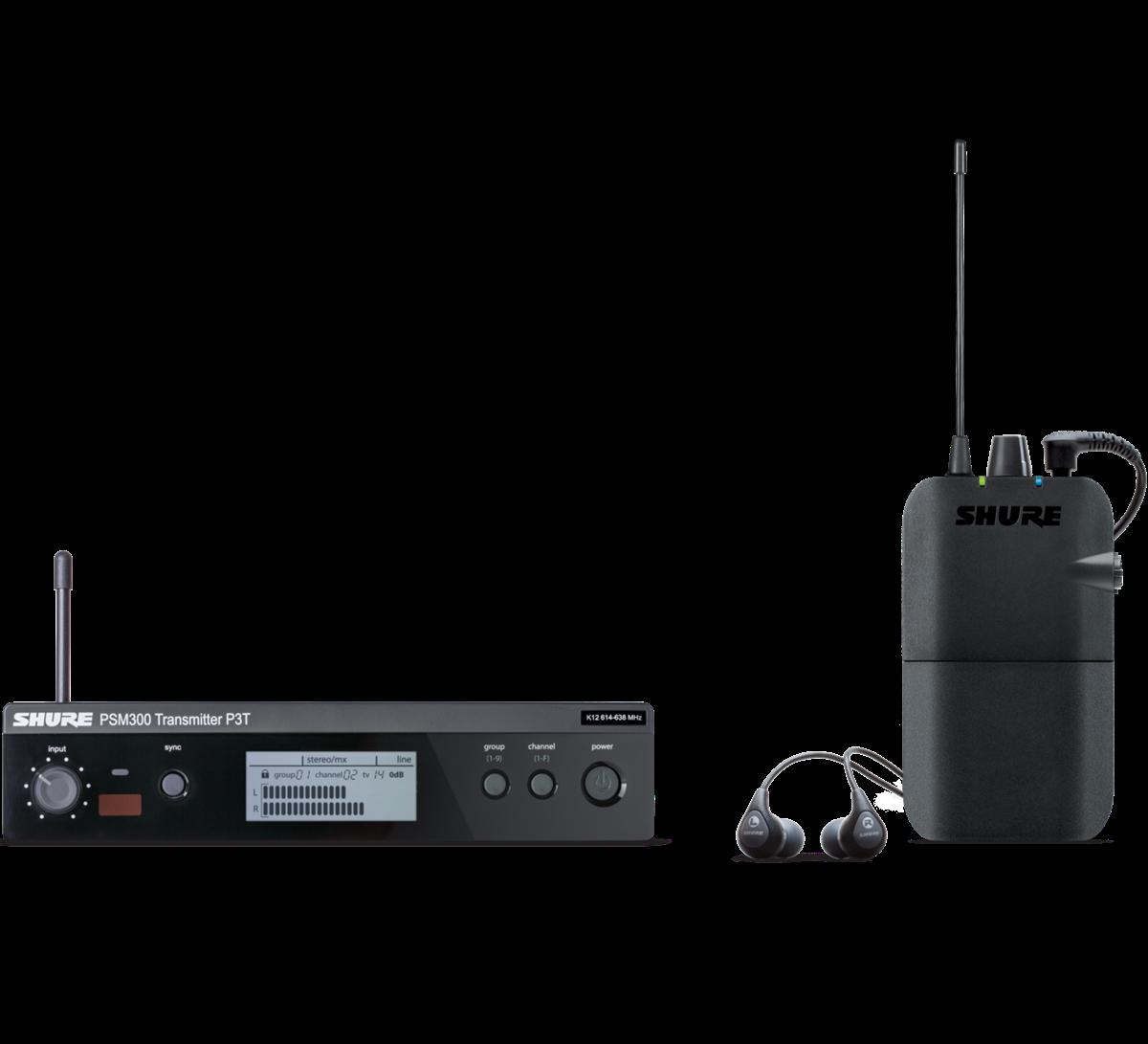 Shure P3TER112GR - PSM300 System K3E (606-630MHz)