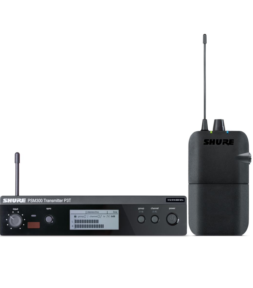 Shure P3TER - PSM300 System S8 (823-832MHz)