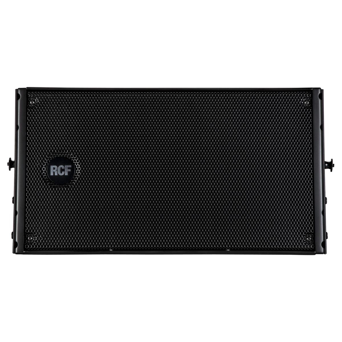 RCF Active 2-way line array module 2x8in + 2in Black
