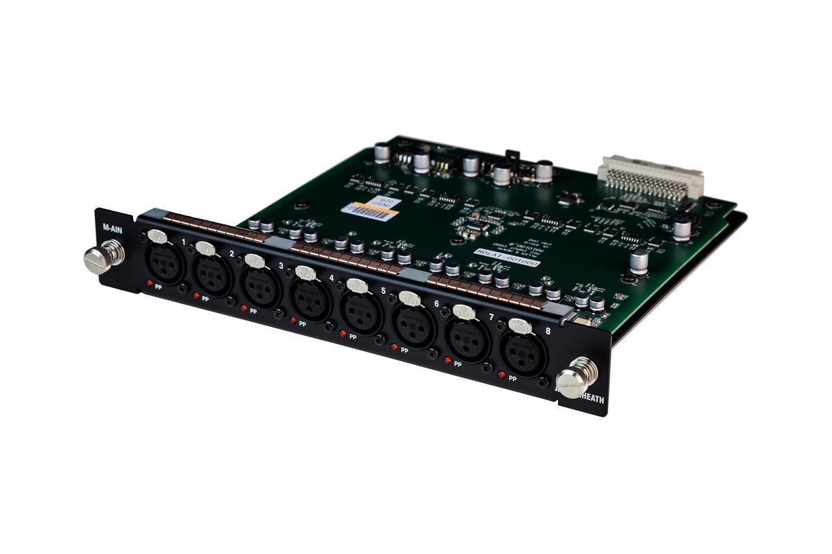 A&H DX32 Mic/line input module - 8 preamps XLR