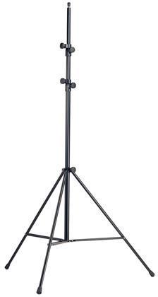 K&M Mikrofonstativ, sort, ekstra høyt, opptil 4 m.