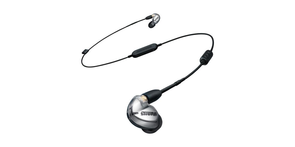 Shure SE425 Earphones (w/RMCE-UNI and RMCE-BT1), Silver
