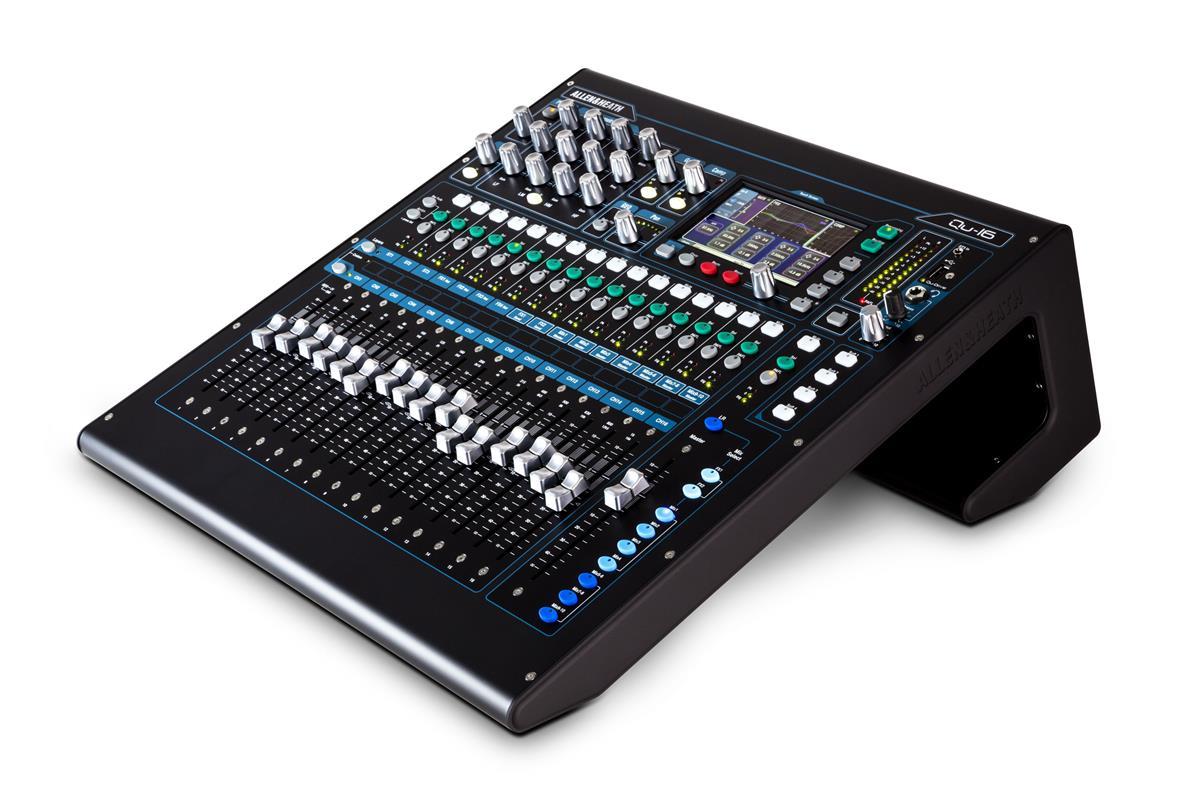 A&H Rack mount Digital Mixer: 16 Mic/Line- 3st -4FX - 12 MIX