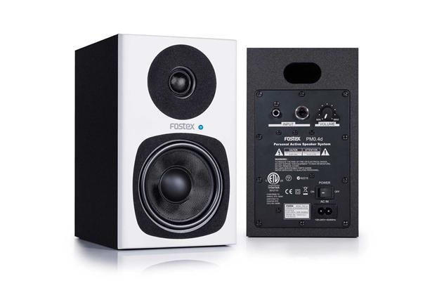 Fostex PM0.4d Active Studio Monitor White