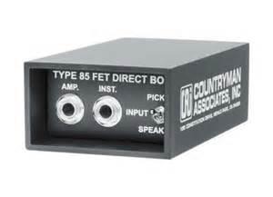 Countryman TYPE 85 FET DI BOX Active