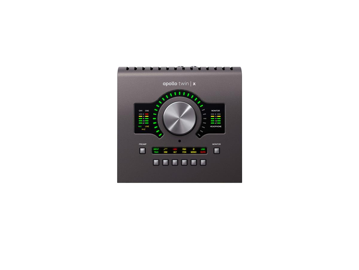 Universal Audio Apollo TWIN X Audiointerface,QUAD x4 DSP,TB3