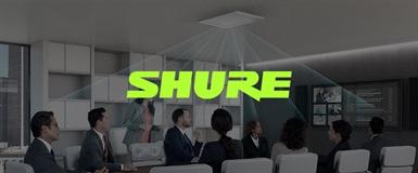 Stor oppdatering til MXA910 fra Shure