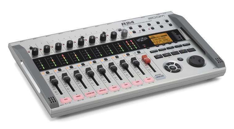 Zoom R24 recorder, interface, controller, sampler