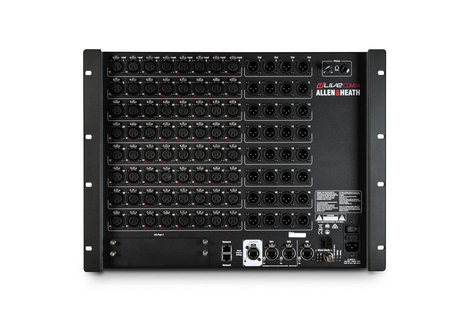 dLive CDM64 128 x 64 I/O,64/32 XLR,ME-1,I/O port,gigaACE