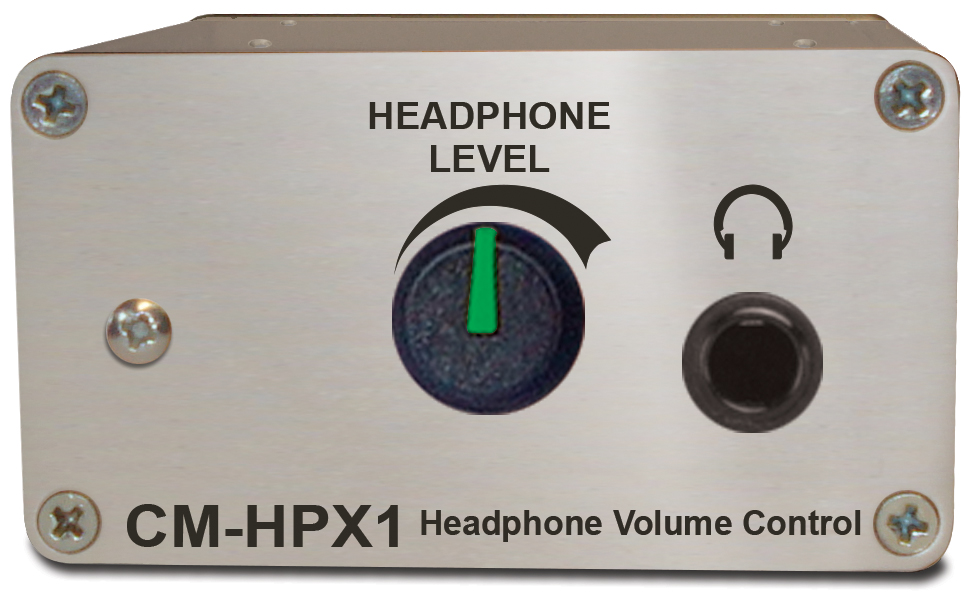Sonifex Headphone Volume Control Passive XLR Input -Jack Out