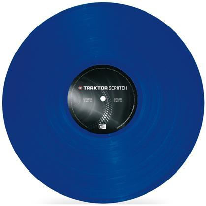 Native Traktor Scratch Pro Control Vinyl Blue MK2