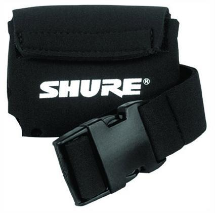 Shure belt pouch for bodypack transmitters