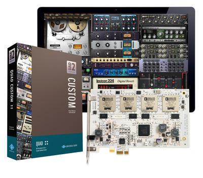 Universal Audio UAD-2 Quad Core Custom DSP card PCIe