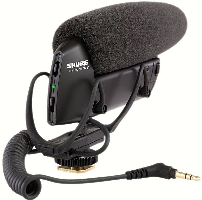 Mikrofoner för DSLR