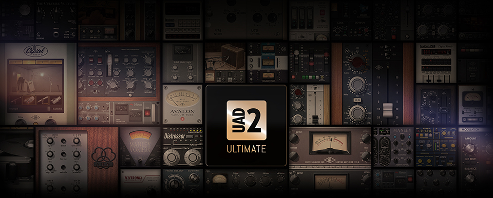 NY UAD-2 Satelite OCTO og Ultimate 9 Bundle